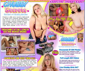 Chubby Secrets - Soft and Sexy chubby girls getting down and dirty inside!