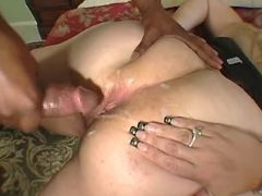 Fat whore gets cumload on huge ass great bbw