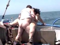 Tremendous bbw gets screwed on boat great bbw