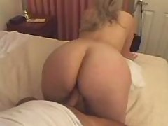Chubby blonde fucked by black cock great bbw