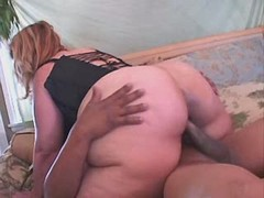 Sweet breasty fatty gets drilled by boyfriend