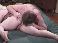 Blond charming fatty slobbers her skinny boyfriend great bbw