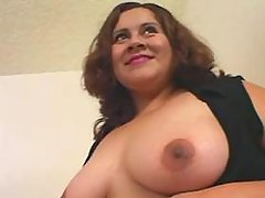 Two guys share big assed plump lady great bbw