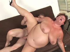Flabby mature drilled by greedy guy great bbw