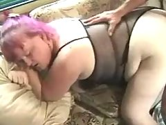 Chubby mature hard fucked by guy great bbw