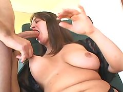 BBW honey fucks hard with horny dude great bbw