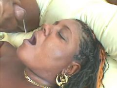 Black chubby whore gets in mouth great bbw