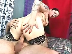 Sweet breasty fatty gets drilled by boyfriend great bbw