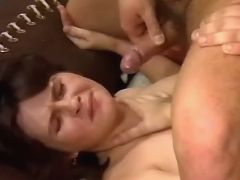 Pregnant cutie gets cumload on face in groupsex great bbw