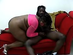 Sensual obese housewife fucking with black man great bbw